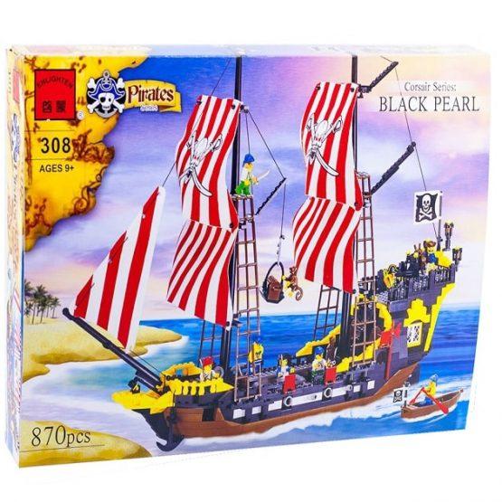 Конструктор «Пиратский корабль - Черная Жемчужина»