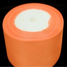Репсовая лента 40 мм, цвет: оранжевый