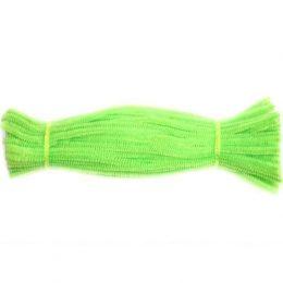 Синельная проволока 30 см, цвет: светло-зелёный