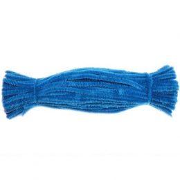 Синельная проволока 30 см, цвет: голубой