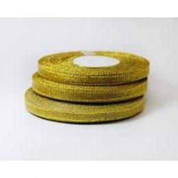 Лента парча золото 6 мм