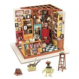 Набор для создания миниатюры (румбокс) Книжный магазинчик