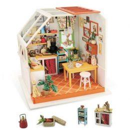 Набор для создания миниатюры (румбокс) Уютная кухня