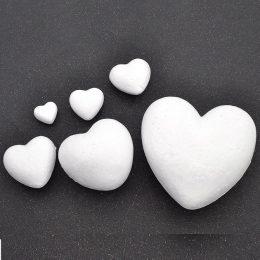 Сердце из пенопласта в ассортименте