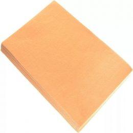 Фетр жёсткий 1 мм, цвет: персиковый