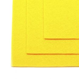 Фетр 1 мм, цвет: жёлтый (1602)