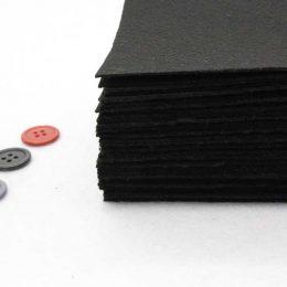 Фетр 1 мм, цвет: чёрный
