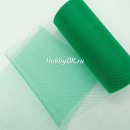 Фатин зелёный 047
