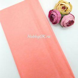 Бумага тишью цвет: персиковый