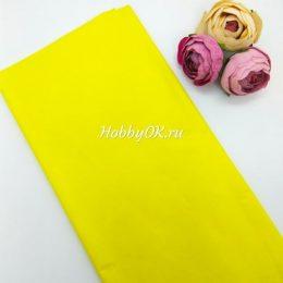 Бумага тишью цвет: жёлтый