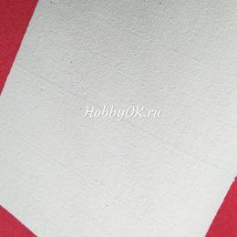 Махровый фоамиран 25*35 см, 2 мм, цвет белый