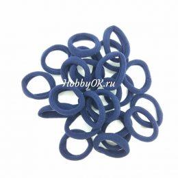 Резинки 30 мм бесшовные, цвет: темно-синий, арт. 5419
