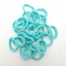 Резинки 40 мм бесшовные, цвет: голубой, арт. 2218
