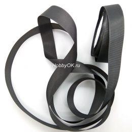 Репсовая лента 25 мм, цвет: графитовый серый, арт. 3350