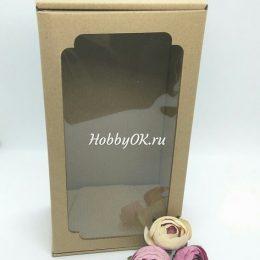 Коробка для игрушек и кукол 23*12*8 см с окном
