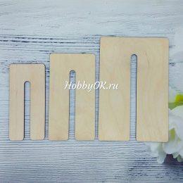 Шаблон для изготовления бантиков, арт. 4939