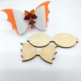 Шаблон для изготовления бантиков Летучая мышь, арт. 2301