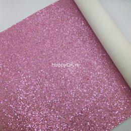 Кожзам Квадрат, цвет: розовый арт. 10-13-ИК-Х