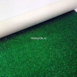 Искусственная кожа для рукоделия, цвет: зелёный арт. ИК-Х-13-17