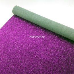Искусственная кожа для рукоделия, цвет: фиолетовый арт. ИК-Х-13-67