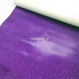 Искусственная кожа для рукоделия, цвет: фиолетовый арт. 23-10-ИК-Х