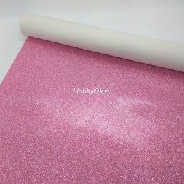 Искусственная кожа для рукоделия, цвет: розовый арт. 23-4-ИК-Х