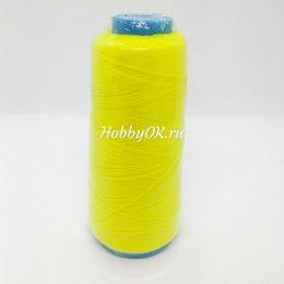 Капроновая нить, цвет: жёлтый, арт. 4542