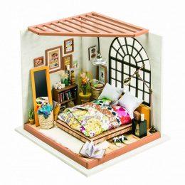 Набор для создания миниатюры (румбокс) Милая спальня DG107