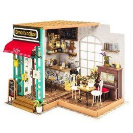 Набор для создания миниатюры (румбокс) Любимая кофейня DG109