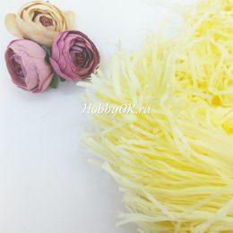 Бумажный наполнитель тишью, цвет: лимонный, арт. 4544