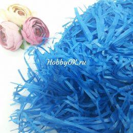 Бумажный наполнитель тишью, цвет: синий, арт. 1729
