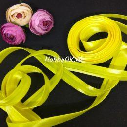 Косая бейка цвет: жёлтый, арт.5650