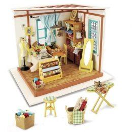 Набор для создания миниатюры (румбокс) Кукольное ателье DG101