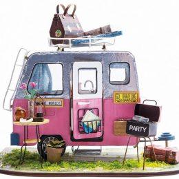 Набор для создания миниатюры (румбокс) Фургончик для пикника DGM04