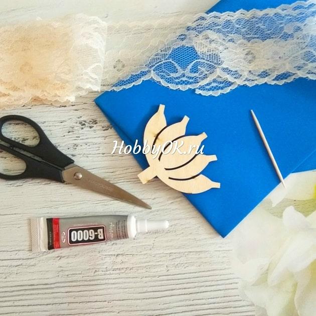 фрамиран шаблон для изготовления бантиков клей ножницы зубочистка