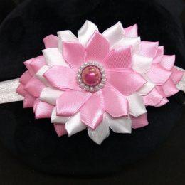 Повязка для девочки, цвет: розовый, арт. 3539-1