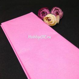 Бумага тишью цвет: розовый, арт. 1231