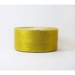 Лента парча золото 40 мм