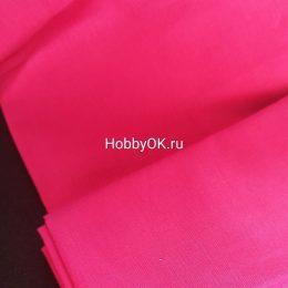 Ткань хлопок цвет: малиновый, арт. 2454