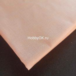 Ткань хлопок цвет: персиковый, арт. 3441