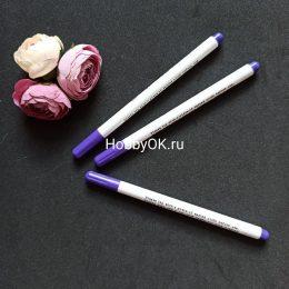 Маркер для ткани, самоисчезающий, цвет фиолетовый, арт. 3434