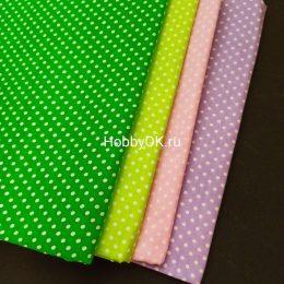 Набор тканей 75*50 см (4 вида), арт. 4807