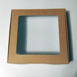 Коробка с прозрачной крышкой 17*17*10 см