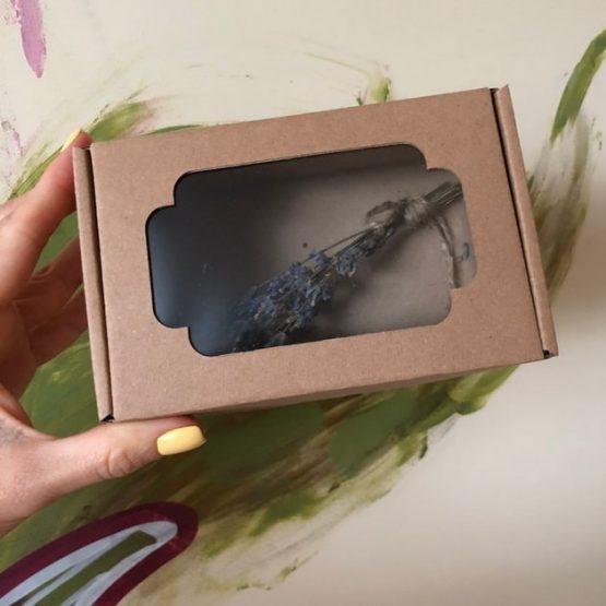 Коробка крафт без окном 12*8,5*5 см цельная, цв. коричневый