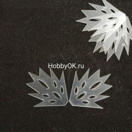 """Шаблоны """"Заготовки для снежинок"""" из фоамирана, бумаги, арт. 1411"""