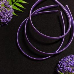 Ободок для волос, цвет: фиолетовый 12-362