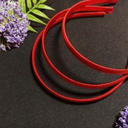 Ободок для волос, цвет: красный, арт. 20-614