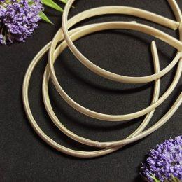 Ободок для волос, цвет: кремовый, арт. 24-619