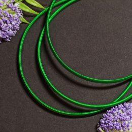 Ободок - основа 10 мм зеленый арт. 51-624